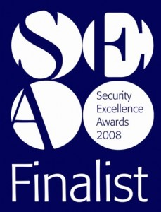 security excellence awards finalist 2008